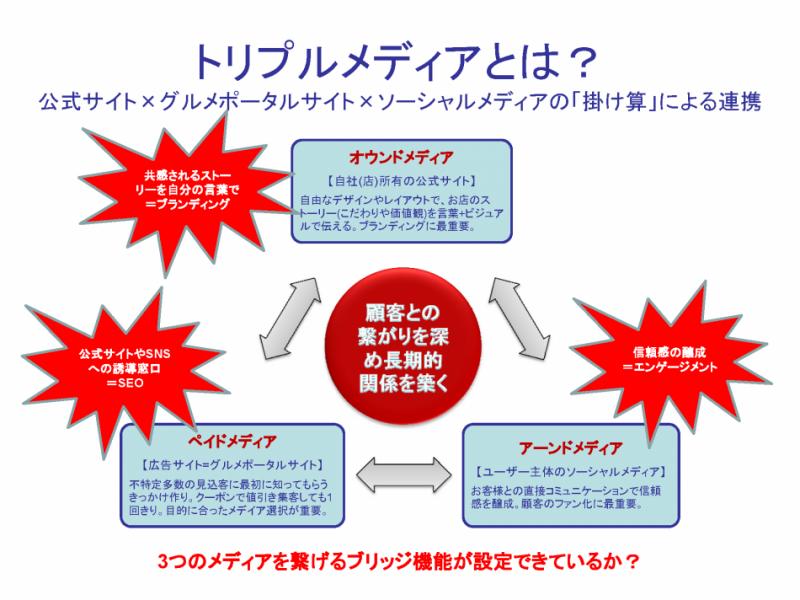 トリプルメディアイメージ図(クリックで拡大)